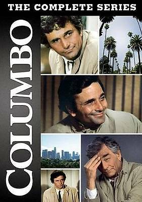 Columbo The Complete Series DVD 34-Disc Box Set Seasons 1,2,3,4,5,6,7 NEW