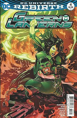 DC Green Lanterns Rebirth comic issue 4Limited variant