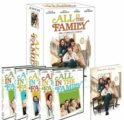 All in the Family The Complete Series DVD Disc Box Set  Seasons 1- 9 NEW