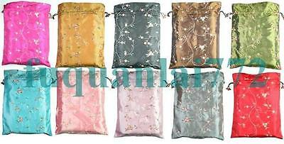 Wholesale 10PCS HANDMADE SILK EMBROIDER CLOTHES BAG SHOES BAGS #22