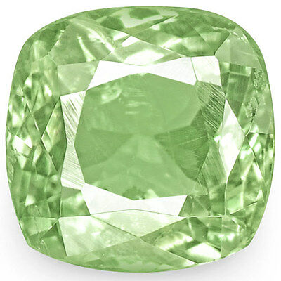 1.08-Carat Cushion-Cut Pastel Green Russian Alexandrite (IGI-Certified)