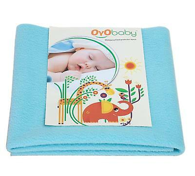 Water Proof & Reusable Mat/Bed Protector/Absorbent Dry Sheets 70cm X 50cm, Small