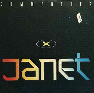 """COMMODORES - Janet (12"""") (VG-/G+)"""