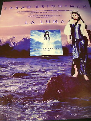 SARAH BRIGHTMAN Emerges From The Sea 2000 PROMO AD mint
