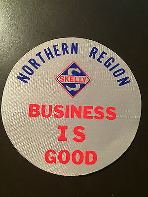 Skelly Oil Company 1972 vintage Northern Region sticker/patch