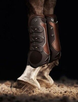 LEMIEUX TEKNIQUE TENDON boot BROWN horse gel lined soft protection boot