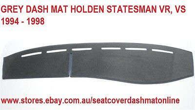 Dash Mat, Grey Dashmat, Dashboard Cover Fit Holden Statesman Vr, Vs 1994 - 1998