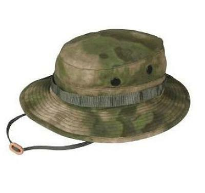 US MILITARY A-TACS FG Battle Rip Combat Army Patrol Boonie Hat ATACS XLarge