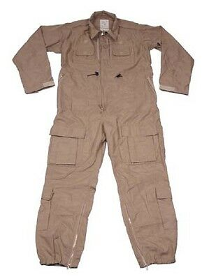 Britisch UK Army US Fliegerkombi Kombi Flight Suit Flieger Piloten Overall tan