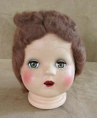 Madame Alexander Vintage composition Doll Head open mouth Elizabeth AX part 1938