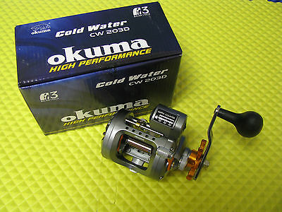 Okuma Cold Water Trolling Reel with Line Counter CW 203D