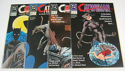 Catwoman #1,2,3,4 Complete Full Set 1-4 High Grades NM/NM+ BATMAN DC COMICS 1989