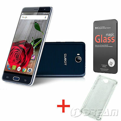 "Unlocked Cubot Cheetah 2 Blue Phone 5.5"" FHD 3GB + 32GB 4G Touch ID Android 6.0"