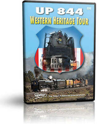 Union Pacific 844 Western Heritage Tour - Pentrex Steam Engine Train Video