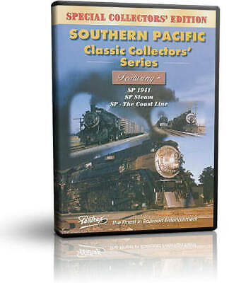 Southern Pacific Classic Collectors' Series, Rare Film - Pentrex Steam Diesel