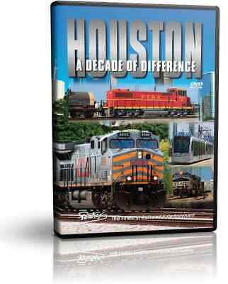 Houston, A Decade of Difference, 2 DVD Set! - Pentrex 2000 - 2014 Railroad Train