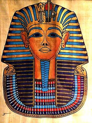 Egyptian Art Papyrus Paper Royal Tombs Temples Pharaohs Made in Egypt EA19