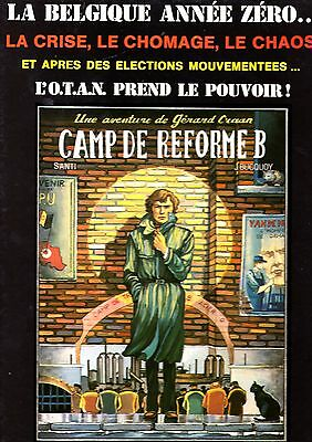 Camp De Reforme B (Bucquoy/santi) Michel Deligne 1982  Rare Edition Non Censuree