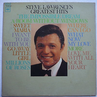 STEVE LAWRENCE - Steve Lawrence's greatest hits - US-LP