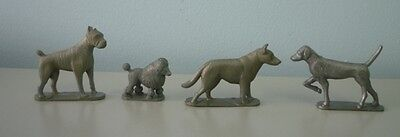 1950's Lot of 14 Nabisco Silver Dog Cereal Premium Figurines