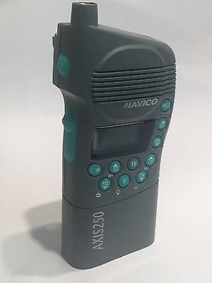 NAVICO AXIS / SIMRAD 250 GMDSS HANDHELD VHF TRANSCEIVER USED WORKING COND. fce3d