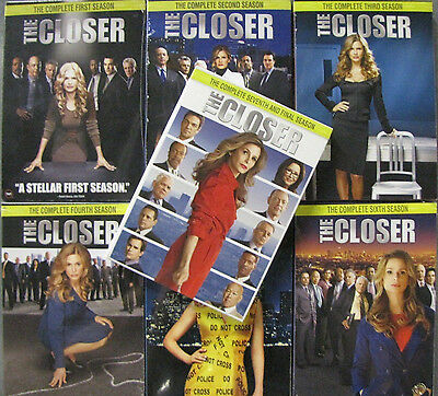 The Closer   Seasons 1,2,3,4,5,6,7   Complete Series   DVD Brand New