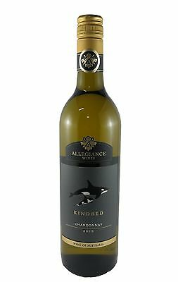 12 X Allegiance Wines Kindred Chardonnay 2015