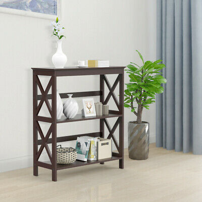 Tremendous Console Side Table Bookcase Storage Shelf Rack Stand Display Download Free Architecture Designs Rallybritishbridgeorg