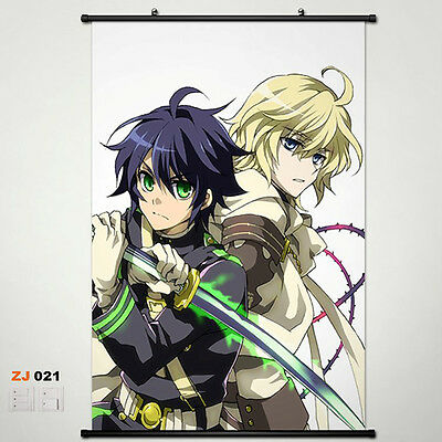 Seraph of the end OwarinoSeraph Wallscroll Stoffposter Wallposter 60x90cm 017