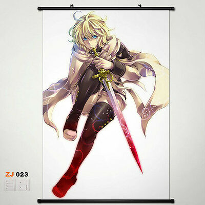 Seraph of the end OwarinoSeraph Wallscroll Stoffposter Wallposter 60x90cm 018