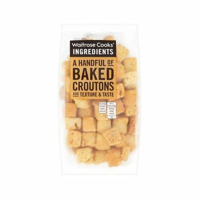 Cooks' Ingredients Croutons Waitrose 100g