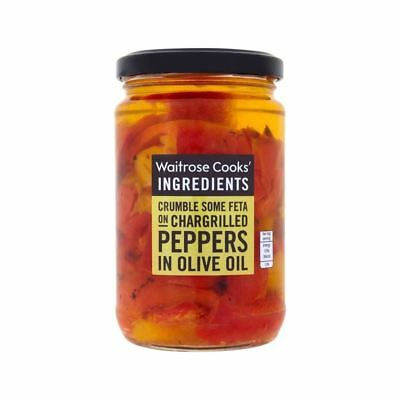 Cooks' Ingredients Peppers in Olive Oil Waitrose 280g