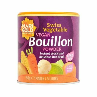 Marigold Less Salt Swiss Vegetable Bouillon 150g
