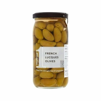 French Lucques Olives Waitrose 340g