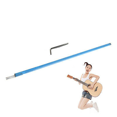 """Double Course Bass Guitar Neck Truss Rod 390mm(22 7/8"""") Outer Dia 9mm A3 Steel"""