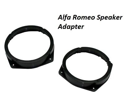 CT25AR02 ALFA ROMEO 159 2005 to 2011 165MM FRONT OR REAR SPEAKER RING ADAPTORS