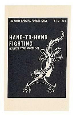 US SPECIAL FORCES  HAND-TO-HAND FIGHTING MANUAL Book Buch
