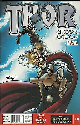 Marvel Thor Crown of Fools comic issue 1
