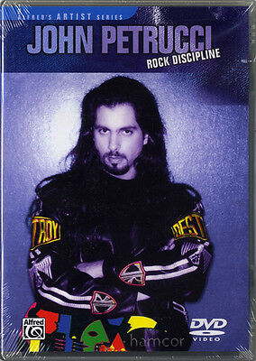 John Petrucci Rock Discipline Guitar DVD Dream Theater Techniques Riffs Picking