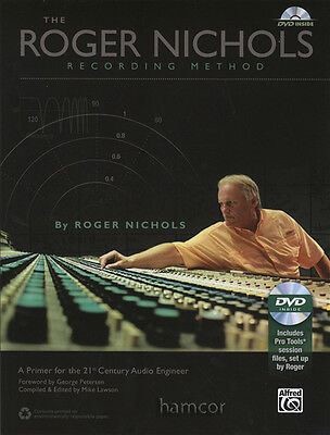 The Roger Nichols Recording Method An Audio Engineer Primer Book/DVDROM