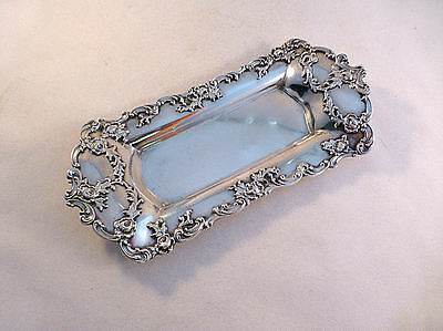 Beautiful Applied Design Gorham Sterling Pin Tray-Date Mark 1899