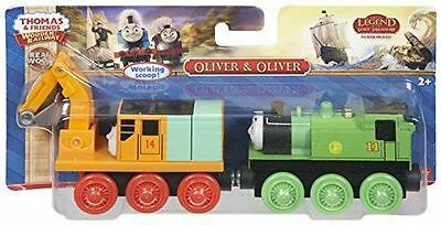 """Thomas & Friends Wooden Railway """"Oliver & Oliver"""" ~ NEW"""