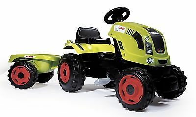 Smoby Trattore Farmer XL Claas Arion 400 Bambini Triciclo Set Completo