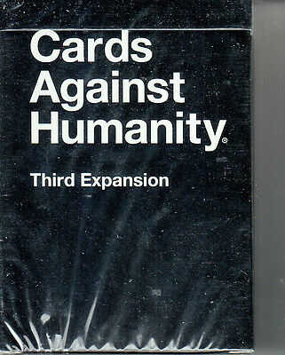 Cards Against Humanity - Third Expansion - NEW Factory Sealed