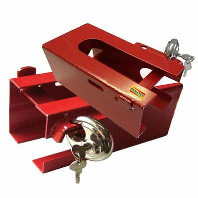 Universal Trailer Hitch Lock Caravan High Security Coupling Lock & Key CS/T424
