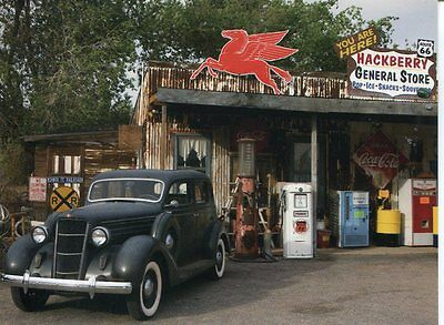 Gas stations roadside america postcards collectibles for Dixie motors savannah ga