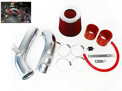 RED For 2003-2008 Mazda6 Mazda 6 2.3L L4 Cold Air Intake System Kit + Filter