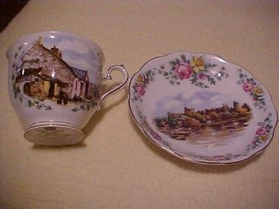 Cup & Saucer, Royal Albert England Traditional British Songs,  Londonderry