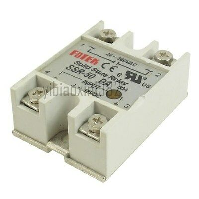 New Solid State Relay SSR-50DA 50A /250V Input 3-32VDC Output 24-380VAC