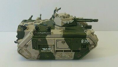 IMPERIAL GUARD Cadian Chimera Tank with Options Pro-Painted Warhammer 40k